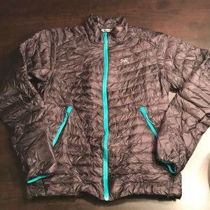NWOT Arcteryx Cerium Down Jacket Packable